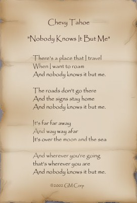 Nobody Knows It But Me